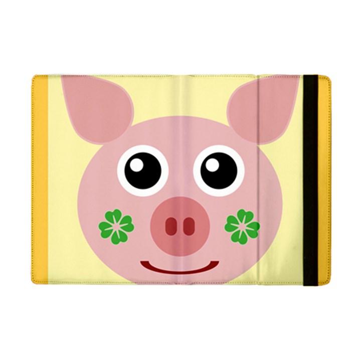 Luck Lucky Pig Pig Lucky Charm iPad Mini 2 Flip Cases