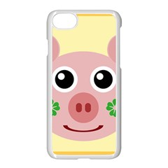 Luck Lucky Pig Pig Lucky Charm Apple Iphone 7 Seamless Case (white)