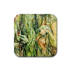 Chung Chao Yi Automatic Drawing Rubber Square Coaster (4 Pack)