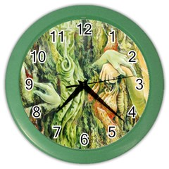 Chung Chao Yi Automatic Drawing Color Wall Clocks