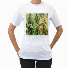 Chung Chao Yi Automatic Drawing Women s T Shirt (white)