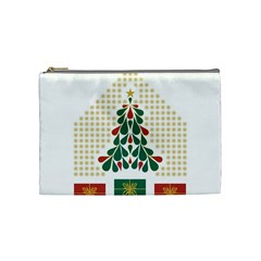 Christmas Tree Present House Star Cosmetic Bag (medium)