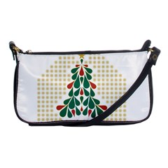 Christmas Tree Present House Star Shoulder Clutch Bags
