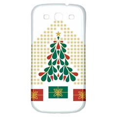 Christmas Tree Present House Star Samsung Galaxy S3 S Iii Classic Hardshell Back Case