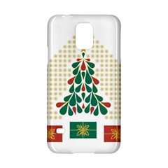 Christmas Tree Present House Star Samsung Galaxy S5 Hardshell Case
