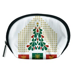 Christmas Tree Present House Star Accessory Pouches (medium)