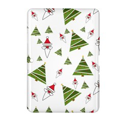 Christmas Santa Claus Decoration Samsung Galaxy Tab 2 (10 1 ) P5100 Hardshell Case