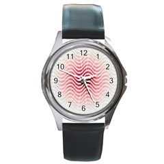 Art Abstract Art Abstract Round Metal Watch