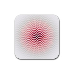 Art Abstract Art Abstract Rubber Square Coaster (4 Pack)