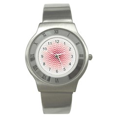 Art Abstract Art Abstract Stainless Steel Watch