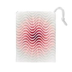 Art Abstract Art Abstract Drawstring Pouches (large)