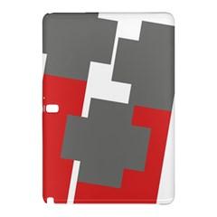 Cross Abstract Shape Line Samsung Galaxy Tab Pro 12 2 Hardshell Case