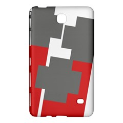Cross Abstract Shape Line Samsung Galaxy Tab 4 (8 ) Hardshell Case