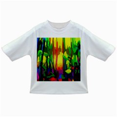 Abstract Vibrant Colour Botany Infant/toddler T Shirts