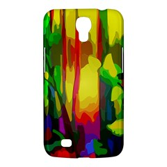 Abstract Vibrant Colour Botany Samsung Galaxy Mega 6 3  I9200 Hardshell Case