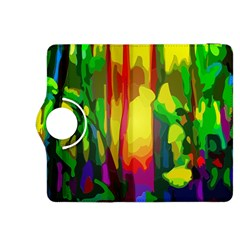 Abstract Vibrant Colour Botany Kindle Fire Hdx 8 9  Flip 360 Case