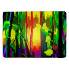 Abstract Vibrant Colour Botany Samsung Galaxy Tab Pro 12 2  Flip Case