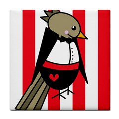 Bird Cute Design Cartoon Drawing Face Towel