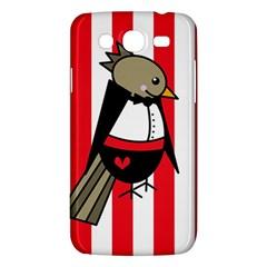 Bird Cute Design Cartoon Drawing Samsung Galaxy Mega 5 8 I9152 Hardshell Case