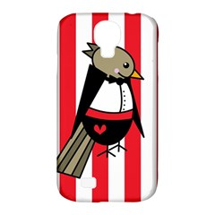 Bird Cute Design Cartoon Drawing Samsung Galaxy S4 Classic Hardshell Case (pc+silicone)