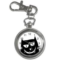 Cat Vector Clipart Figure Animals Key Chain Watches