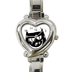 Cat Vector Clipart Figure Animals Heart Italian Charm Watch