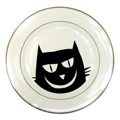 Cat Vector Clipart Figure Animals Porcelain Plates