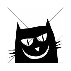 Cat Vector Clipart Figure Animals Acrylic Tangram Puzzle (6  X 6 )