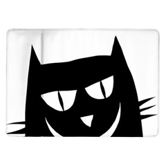 Cat Vector Clipart Figure Animals Samsung Galaxy Tab 10 1  P7500 Flip Case