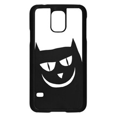 Cat Vector Clipart Figure Animals Samsung Galaxy S5 Case (black)