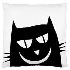 Cat Vector Clipart Figure Animals Large Flano Cushion Case (one Side)