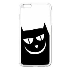 Cat Vector Clipart Figure Animals Apple Iphone 6 Plus/6s Plus Enamel White Case