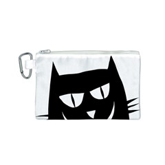 Cat Vector Clipart Figure Animals Canvas Cosmetic Bag (s)