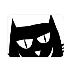 Cat Vector Clipart Figure Animals Double Sided Flano Blanket (mini)