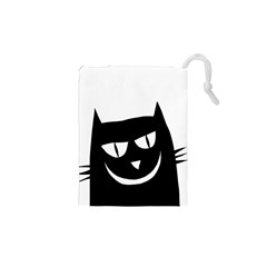 Cat Vector Clipart Figure Animals Drawstring Pouches (xs)