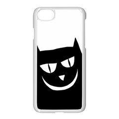 Cat Vector Clipart Figure Animals Apple Iphone 8 Seamless Case (white)