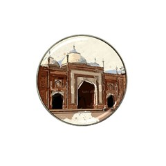 Agra Taj Mahal India Palace Hat Clip Ball Marker (10 Pack)