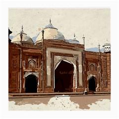 Agra Taj Mahal India Palace Medium Glasses Cloth