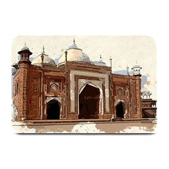 Agra Taj Mahal India Palace Plate Mats