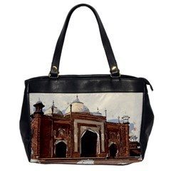 Agra Taj Mahal India Palace Office Handbags