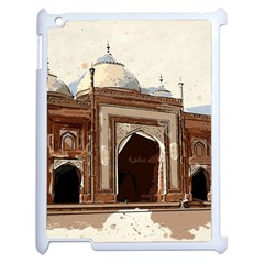Agra Taj Mahal India Palace Apple Ipad 2 Case (white)