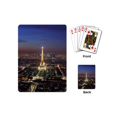 Paris At Night Playing Cards (mini)