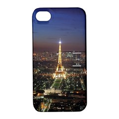 Paris At Night Apple Iphone 4/4s Hardshell Case With Stand
