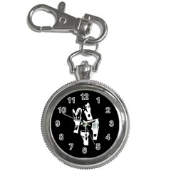 Kiss Band Logo Key Chain Watches