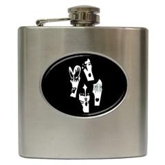Kiss Band Logo Hip Flask (6 Oz)