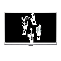 Kiss Band Logo Business Card Holders