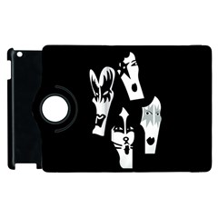 Kiss Band Logo Apple Ipad 3/4 Flip 360 Case