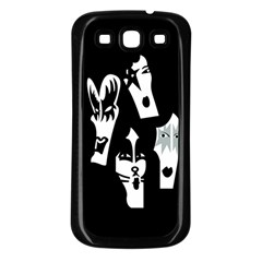Kiss Band Logo Samsung Galaxy S3 Back Case (black)