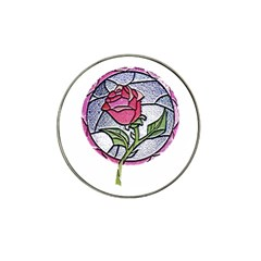 Beauty And The Beast Rose Hat Clip Ball Marker (4 Pack)