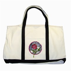 Beauty And The Beast Rose Two Tone Tote Bag